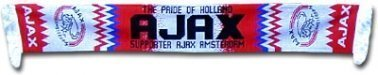 Ajax AFC Football Crest Scarf