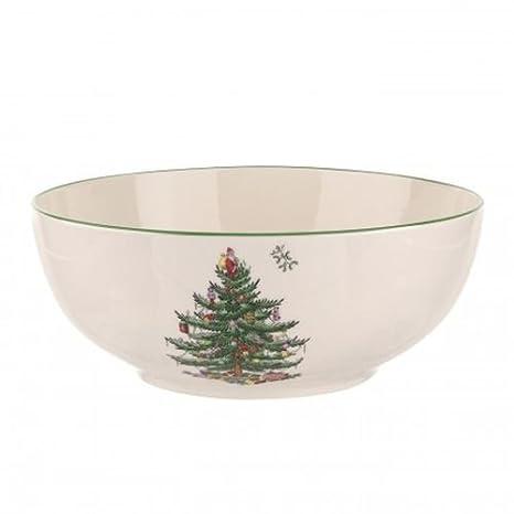 Spode Christmas Tree Round Bowl - Amazon.com Spode Christmas Tree Round Bowl: Serving Bowls