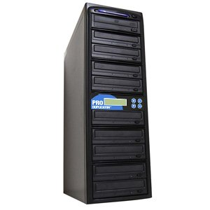 Produplicator DVD09SATA20X 1 to 9 target SATA Serial ATA 20x DVDPlus--RW Drive CD DVD Multiple Burner Duplicator by Produplicator