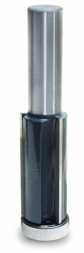 MLCS 10807 TripleWing Flush Trim Bit 1/2-Inch Diameter by 2-Inch Cutting (Diameter 3 Flute Flush Trimming)