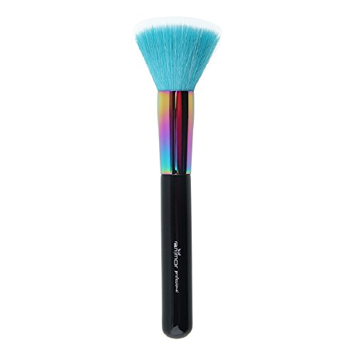 Anmor 1 PCS Duo Fibre Brush Professional Stippling Powder Blusher Makeup Brush (Professional Stippling Brush)