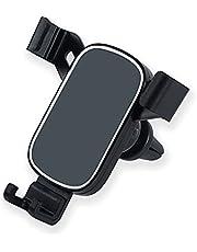 Autotelefoonhouder Zwaartekracht Koppeling Mobiele Telefoon Automobiel Cradle Auto Lock 360 ° Rotatie Universele Air Vent Auto Telefoon Mount voor iPhone 11 Pro/11/XS Max/XS/Xr/X/8 Plus, Galaxy S20/S10, Huawei, SONY