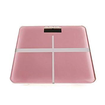 ZhangTianShi Báscula de baño Básculas de cuerpo Básculas electrónicas Básculas de peso corporal Hogar, rosa: Amazon.es: Hogar
