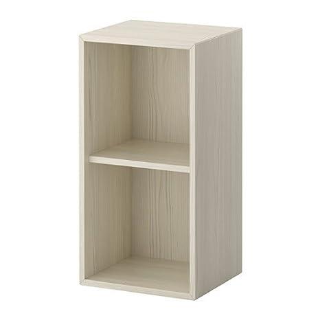 Ikea Valje Armadietto Da Parete In Larice Bianco 68 X 35 Cm
