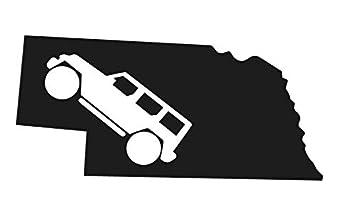 wrangler cherokee tj cj yj xj offroad 4 X 4  Logo Vinyl Decal