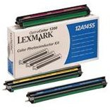 - Lexmark 12A1455 Laser Toner Photoconductor Set (Cyan, Magenta, Yellow) for the Lexmark Optra Color 1200 Laser Printer - Photoconductor Unit, Works for OptraImage 1200r, OptraImage Color 1200, OptraImage Color 1200r