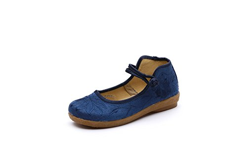 Mary Pour Janes Lazutom Bleu Femme q0xHddF