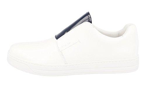 Prada Women's 3S6047 Brushed Spazzolato Leather Trainers/Sneaker bc1UPI