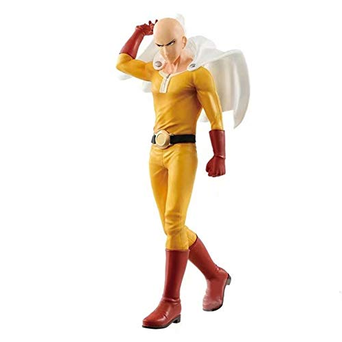 (Elibeauty Anime ONE Punch-Man Saitama PVC Figure Model Cosplay PVC Vinyl Figure Doll Collectible Toys Action Figure Best Gift for Kids Teens and Anime-Fans)
