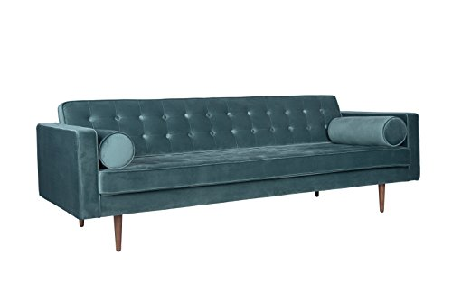 HD Buttercup 03 215 ARAB TEAL WD 02 Capetown Sofa Teal Velvet, ...