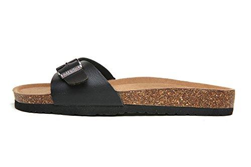 pie de Una Azul Correa Sandalias Playa Sandalias Zapatos Zapatillas De Flip Corcho Moda Antideslizantes Mujer Flop SqgxfS4