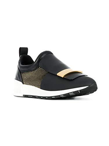 Rossi Sergio Skate A80840mfn2981498 Noir Cuir Femme Chaussures De vnmN0y8wO