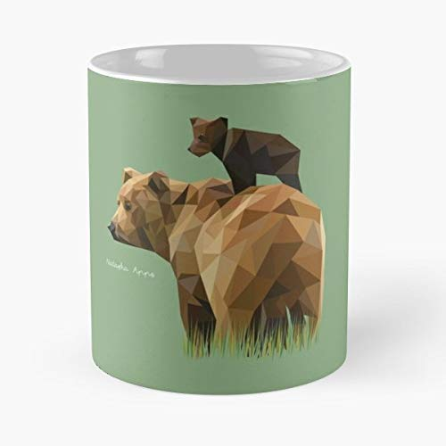 Graphic Design Geometric Portrait Animals - Funny Coffee Mug, Gag Gift Poop Fun Mugs]()