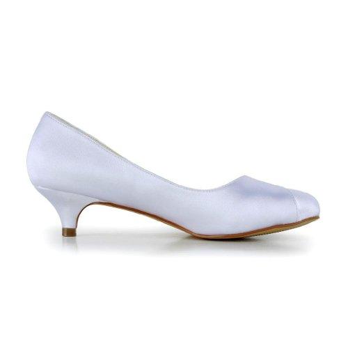 0117 Jia de chaussures mariage Jia Wedding Blanc femme Escarpins pour mariée qZZwESFx