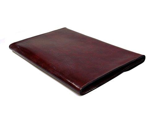 SAGEBROWN Brown Bridle Envelope Folder by Sage Brown (Image #4)