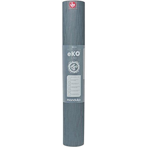 Manduka Unisex eKO Lite Mat Thunder Yoga Equipment One Size Review