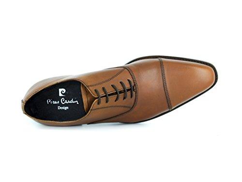 Chaussures Cardin Camel Marron Pierre Richelieu PC1605AB ZaFUp