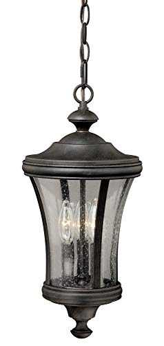 (Vaxcel T0150 Hanover Pendant Light, 9