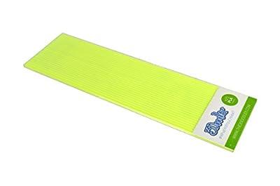 3Doodler Radioactive Yellow PLA Plastic 3D Printing Pen (x25 Strand)
