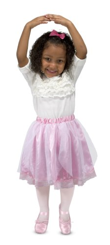Melissa & Doug Role Play Collection - Goodie Tutus! Dress-Up Skirts Set (4 Costume Skirts) (Little Girls Dress Up)