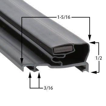 Top Hobart Magnetic Door Gasket for Model HV1 hot sale