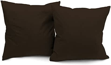 DeluxeComfort Microsuede Throw-Pillows, 16