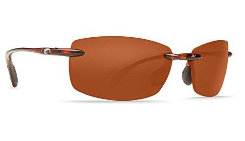 Costa Del Mar Ballast C-Mates 2.50 Sunglasses Tortoise/Copper 580Plastic (Sunglasses Ballast)
