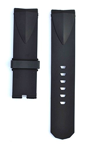 Corum Admirals Cup - 212ZTD 24mm Black Rubber Corum fit for Admiral's Cup Replacement Watch Band Strap Free Spring BAR Tool CRM101