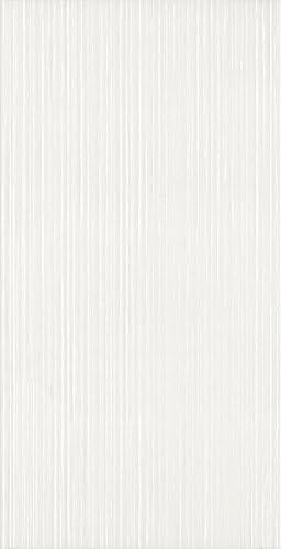 Naturwei/ße glasierte Keramikfliese f/ür Wand//Musterfliese 25 x 18 cm WandflieseWien
