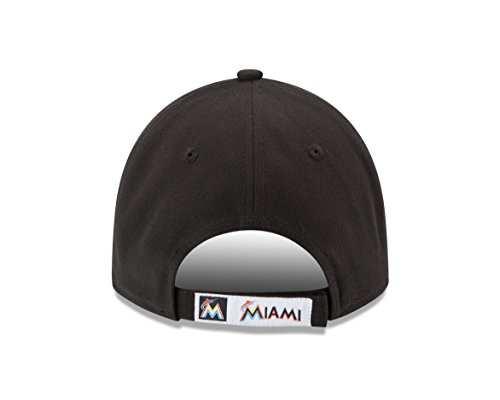 buy popular f398a 6a9f0 New Era MLB The League Miami Marlins Home 9Forty Adjustable Cap
