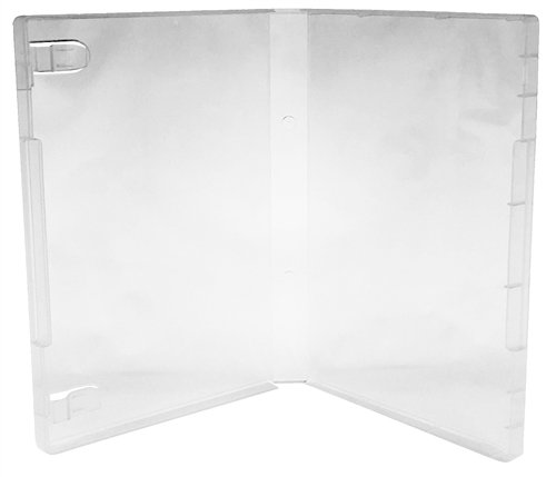 CheckOutStore 10 Clear Storage Cases 21mm for Rubber Stamps (No (Stamp Case)