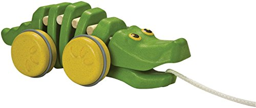 Plan Toys Preschool Dancing Alligator Pull Along Toy