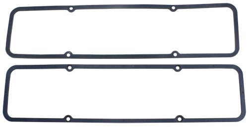1955-86 Chevy Small Block 265-283-305-327-350 Rubber W/ Steel Core Valve Cover Gaskets - Blue