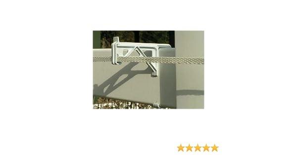 Amazon.com : Vinyl Fence Insulator-25/package : Garden & Outdoor