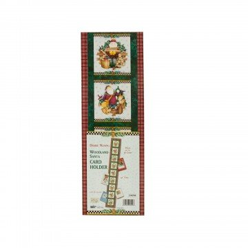 Debbie Mumm 42' Long Christmas Card Holder -- This Stylish Decoration Holds Up To 30 Holiday Greeting Cards (cards not (Debbie Candle)