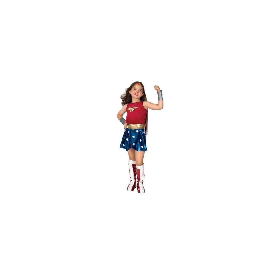 Girls Wonder Woman Costume Medium (8 10) Reflective