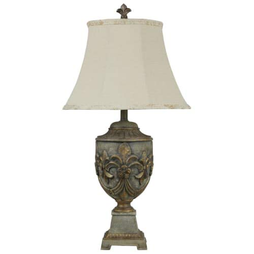 ersailles 32'' Tall Accent Table Lamp with Softback Fabric S, Verdigris Blue ()