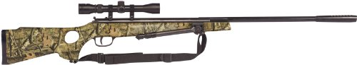 Winchester Model 1400CS .177 Caliber Break-Barrel Air Rifle with Scope/Bi-Pod/Sling, Mossy Oak (Cal Air Barrel Rifle)