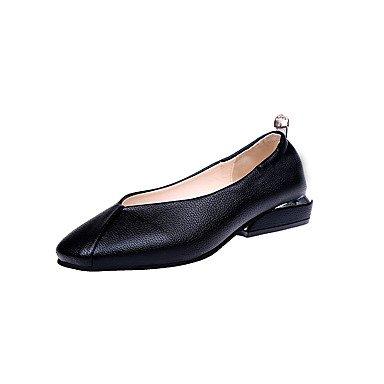 Caída 1 Negro Formales amp;Amp; Traje En Blanco Zapatos UK3 Tacones Zapatos Casual EU36 Talón 5 Caminar CN35 Marrón1A Parte Bajo De Comodidad Mujer Comodidad Pu Noche Formales US5 La 5 El BqYzSxz