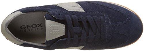 Geox Men's U Vinto B Low-Top Sneakers Blue (Navy C4064) qECLYr