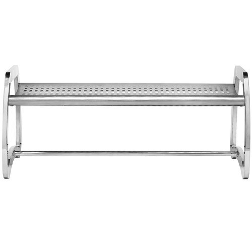 Commercial Zone Skyline 4' Bench, Stainless Steel