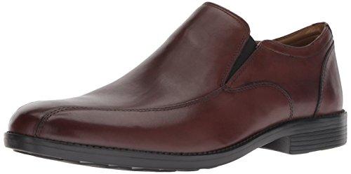 Bostonian Men's Birkett Step Loafer, Brown Leather, 105 M US