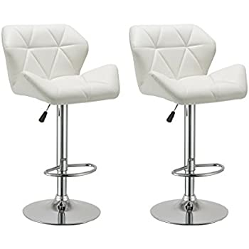 Amazon Com Duhome 2 Pcs Luxury Modern White Synthetic