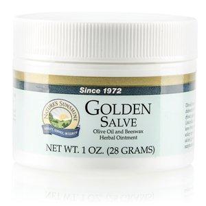 Golden Salve moisturizes dry rough skin - ()