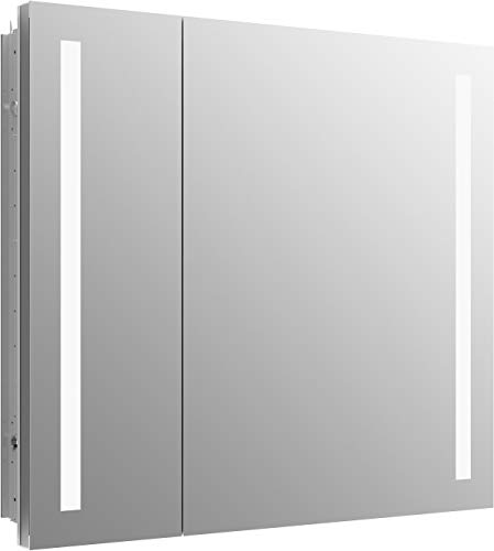 Kohler 99009-TLC-NA Verdera Lighted Medicine Cabinet, Aluminum