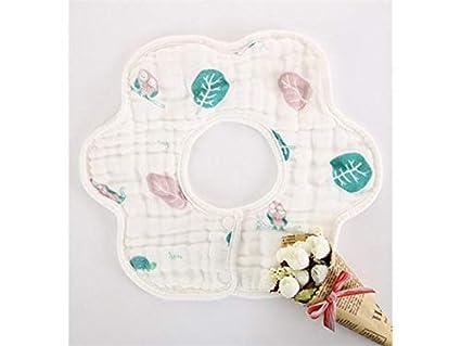 Delantal para niños pequeños Toalla babero babero impermeable babero impermeable para bebés y niños pequeños de