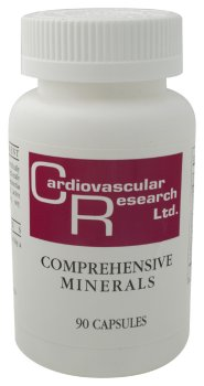 Cardiovascular Research - Minéraux complets, 90 capsules