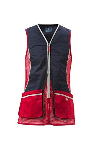 Beretta Mens New Fit Silver Pigeon Shooting Vest, Navy, XXXL (Sporting Clay Shooting Vest)