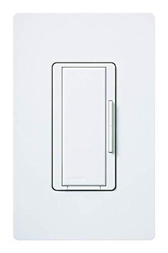Lutron MA-R-WH Maestro Companion 120V 8.3A Designer Digital Dimmer Switch, White