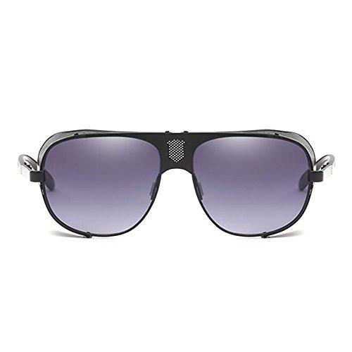 Purple De Adecuado Playa La Moda De FHTD De Los Gafas Sol Retro Sol Personalidad Punk Grueso De Parabrisas De Estilo De De Conducción Hombres Purple Viaje De Moda Gafas Gafas Lateral FInSq1CIH